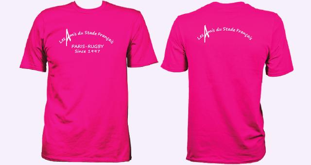 Le T-shirt des Amis du Stade Français