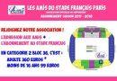 C'est décidé: Je m'abonne aux AMIS du Stade Français Paris!