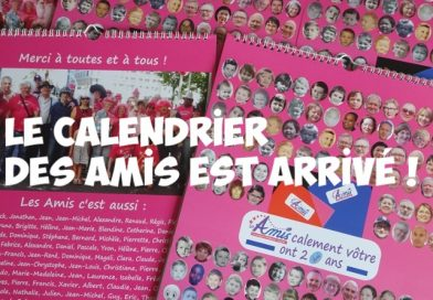 Le calendrier des Amis est arrivé !!