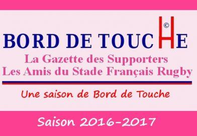 Bord de Touche Saison 2016-2017