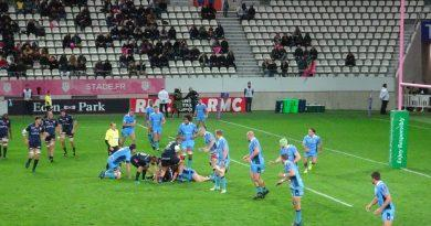 Stade vs London Irish en photos