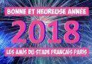 Les Amis du Stade Français Paris vous présentent leurs Meilleurs Vœux pour la nouvelle Année !