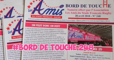 Bord de Touche 248 – Stade / Brive