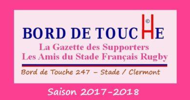 Bord de Touche 247 – Stade / Clermont