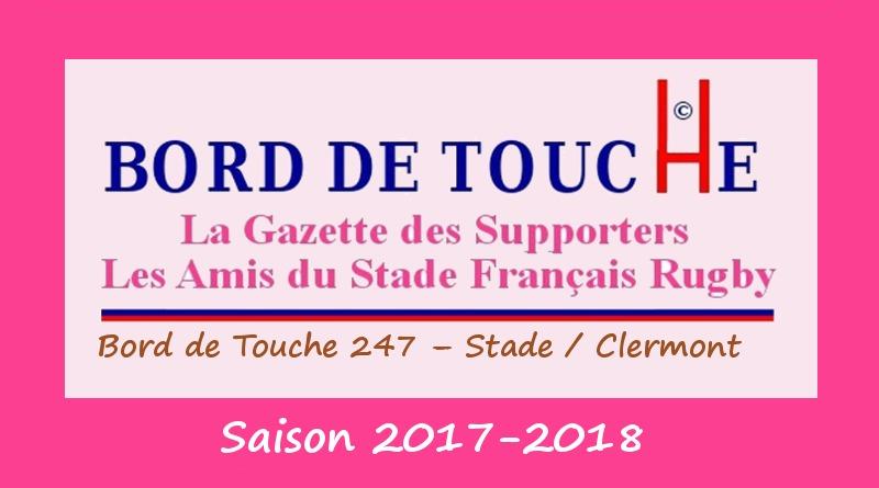 Bord de Touche 247 - Stade / Clermont