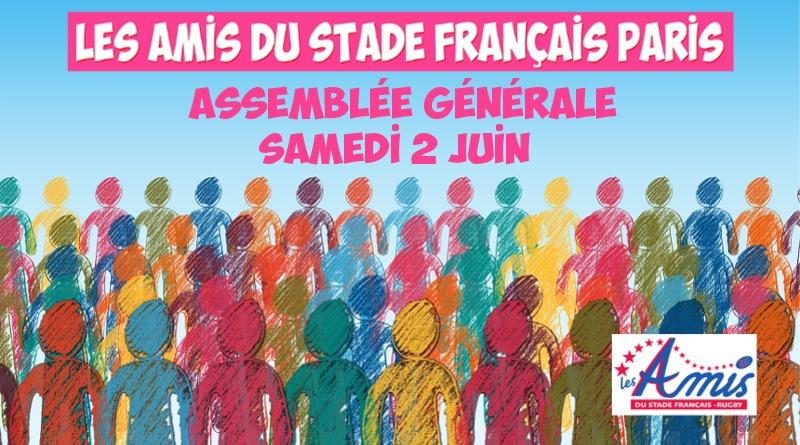 Les AMIS seront en assemblée générale le 2 juin