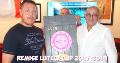 Lutèce Cup 2017-2018 – Le Champion