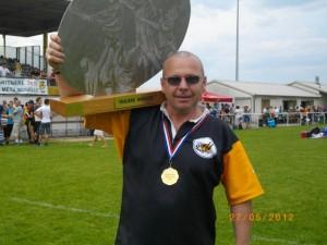 Pascal Loge, entraîneur des cadets de l'Entente Gif Chevreuse