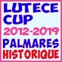 Lutèce Cup - Palmarès