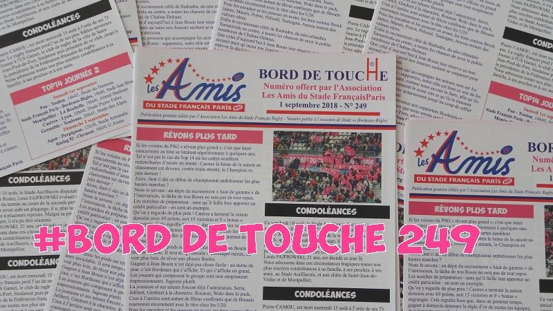 Bord de Touche 249 - Stade / Bordeaux
