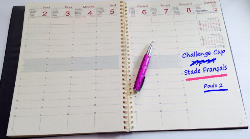 Le calendrier 2018-2019 de Challenge Cup est connu