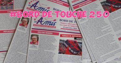 Bord de Touche 250 – Stade / Toulon