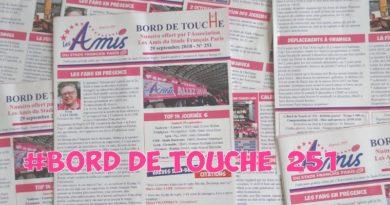 Bord de Touche 251 – Stade / Racing 92