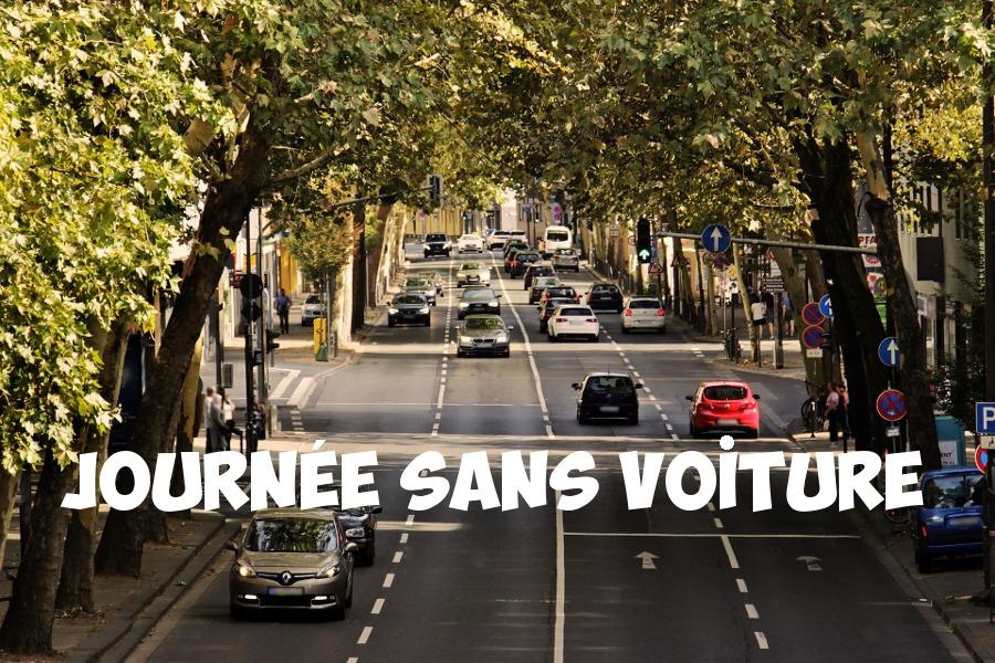 La 4emeédition de laJournée sans voiture c'est le dimanche 16 septembre