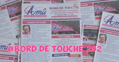 Bord de Touche 252 – Stade / Montpellier