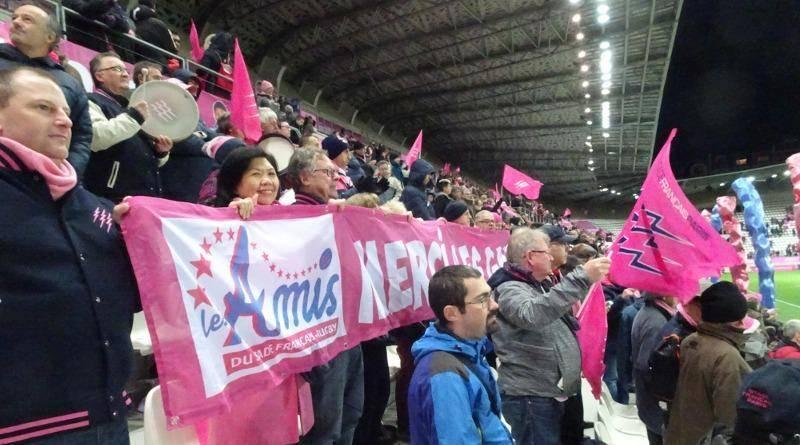 Tour d'honneur après Stade vs Montpellier