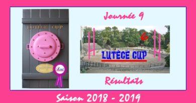 J9 Lutèce Cup 2018-2019 – Résultats
