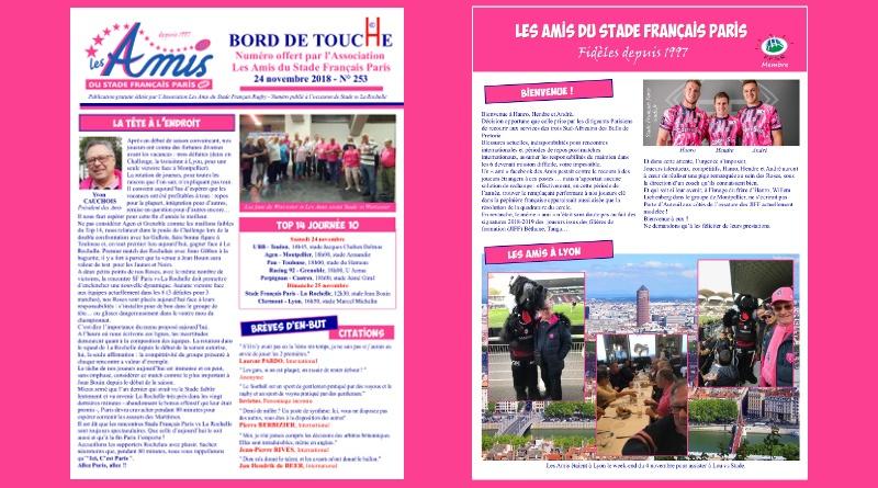 Bord de Touche 253 - Stade / La Rochelle