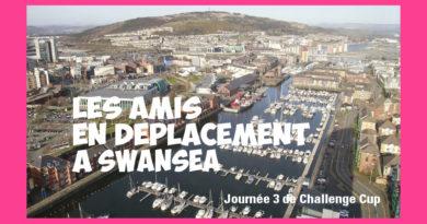 Les Amis seront à Swansea pour Ospreys vs Stade – journée 3 de Challenge Cup