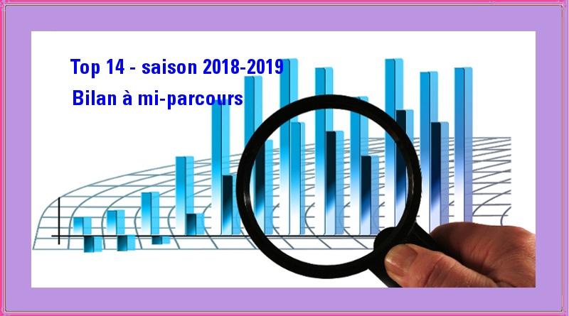 Top 14 2018-2019 – Le bilan du Stade en chiffres à mi-parcours