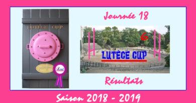 J18 Lutèce Cup 2018-2019 – Résultats