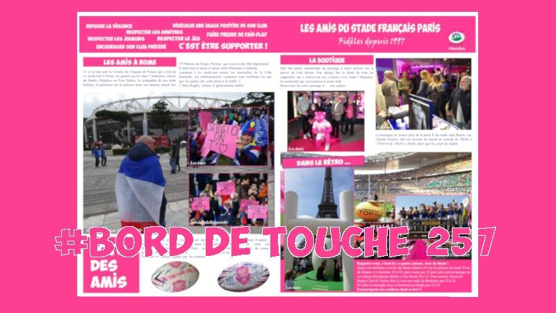 Bord de Touche 257 - Stade / Clermont