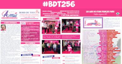 Bord de Touche 256 – Stade / Toulouse