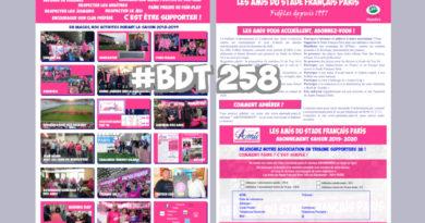 Bord de Touche 258 – Stade / Pau