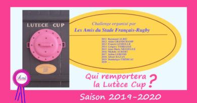 Le challenge pour la Lutèce Cup est ouvert