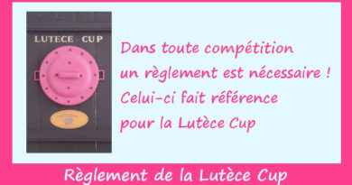 Nouveau règlement Lutèce Cup 2021 – 2022