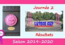J2 Lutèce Cup 2019-2020 – Résultats