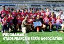Programme des 28 et 29 septembre – Stade Français Paris Association