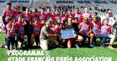 Programme des 12 et 13 octobre – Stade Français Paris Association
