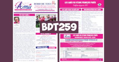Bord de Touche 259 – Stade / Bayonne