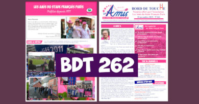 Bord de Touche 262 – Stade / Racing 92
