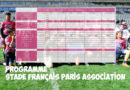 Programme des 21 et 22 décembre – Stade Français Paris Association