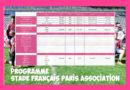 Programme des 11 et 12 janvier – Stade Français Paris Association