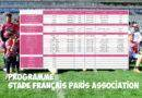 Programme des 25 et 26 janvier – Stade Français Paris Association