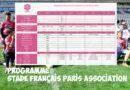 Programme des 1 et 2 février- Stade Français Paris Association