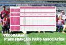 Programme des 22 et 23 février- Stade Français Paris Association