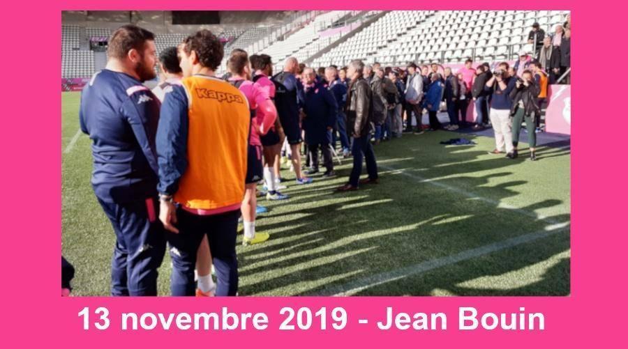 Jean-Denis - A Nice, les Stadistes avant la Coupe du Monde, 1er entraînement à Jean Bouin, Rémi Bonfils