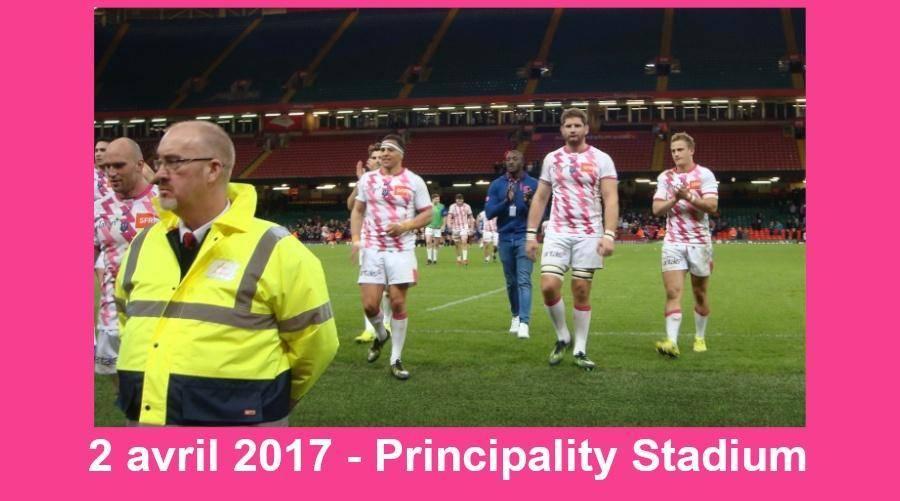 "Jean-Francis - L'""accolade appuyée"" de Rabah Slimani, 2 avril 2017 Principality Stadium"