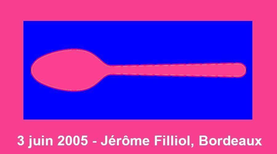 Fabrice - La cuillère de Jérôme Fillol, 3 juin 2005