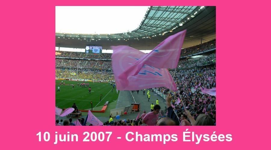 Fred - Champion de France 2007, sur les Champs le 10 juin