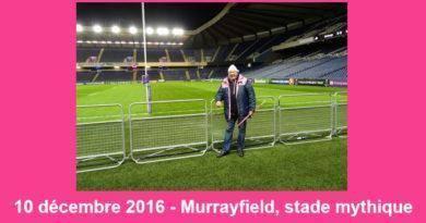 Jean-Louis – Murrayfield, stade mythique 10 décembre 2016