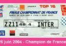 Pascale – Champion de France 2004, 26 juin 2004