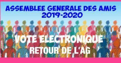 Retour de l'Assemblée Générale électronique