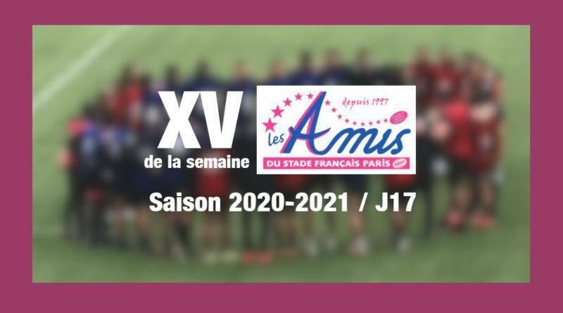 Top 14 – J17 saison 2020-2021 – XV des Amis