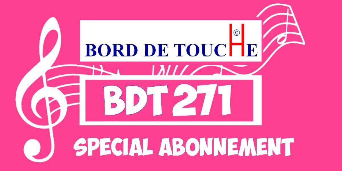 Bord de Touche 271 - Spécial abonnement